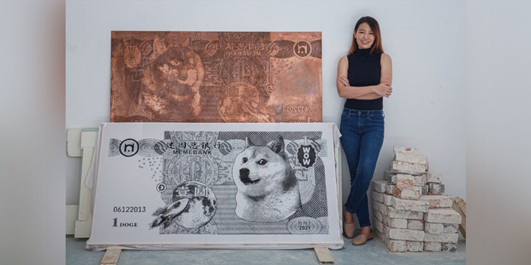 Malaysian Artist Red Hong Yi Enters NFT Market With Meme Banknotes Series