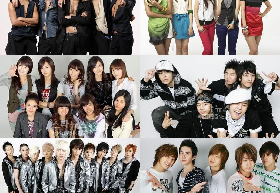 Las 10 bandas kpop más conocidos del momento
