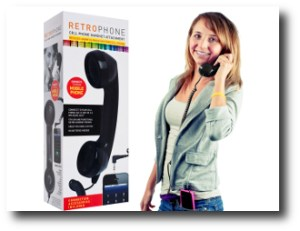 10. Retro cellphone handset