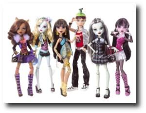 5. Mu+¦ecas Monster High
