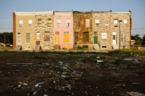 Baltimore's Vacant Housing