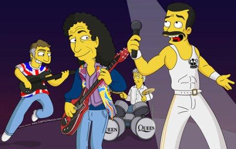 Queen en Los Simpsons