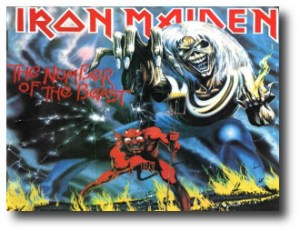 6. Iron Maiden - The Number of the Beast