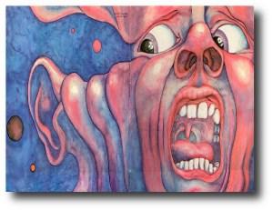 9. Kim Crimson - In The Court of the Crimson King