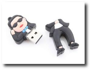 10. Memoria USB PSY - Gangnam Style