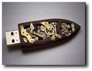 2. Memoria USB mec+ínica