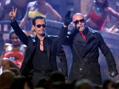 Pitbull con Marc Anthony