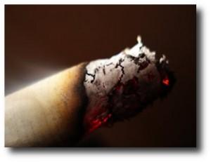 3. Cigarrillos encendidos