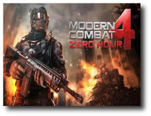 1. Modern Combat 4_ Zero Hour