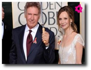 6. Harrison Ford y Calista Flockhart