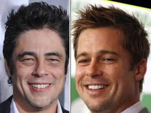 10. Brad Pitt y Benicio del Toro