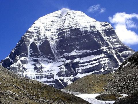 El pico del Monte Kailash