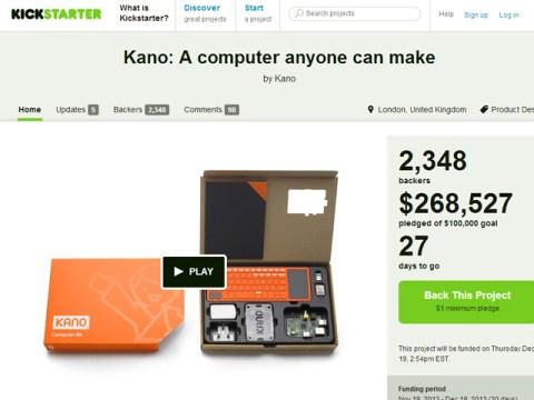 Kano, una computadora que todos pueden hacer