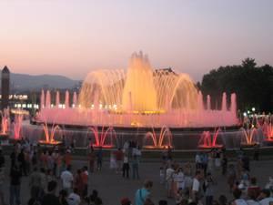 2. La Fuente m+ígica de Montjuic