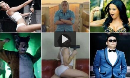 Los 10 videos más vistos en YouTube 2013