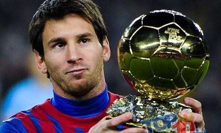 Los 10 jugadores de fútbol con más balones de Oro