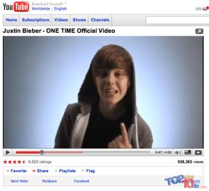 los 10 artistas que han sido descubiertos en YouTube