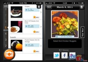 Las 10 mejores aplicaciones iPhone para contar calorías