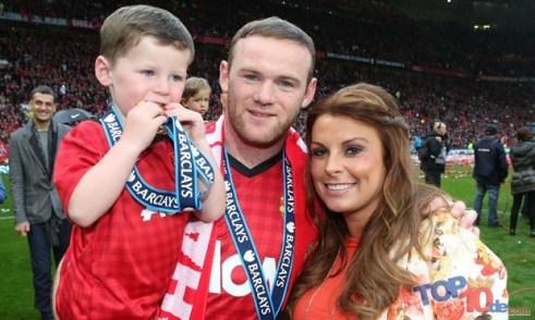 Wayne and Coleen Rooney,
