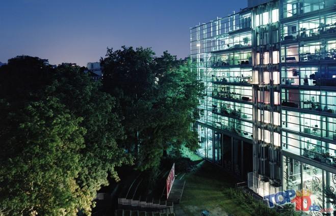 Las 10 estructuras arquitectónicas más inusuales en Europa