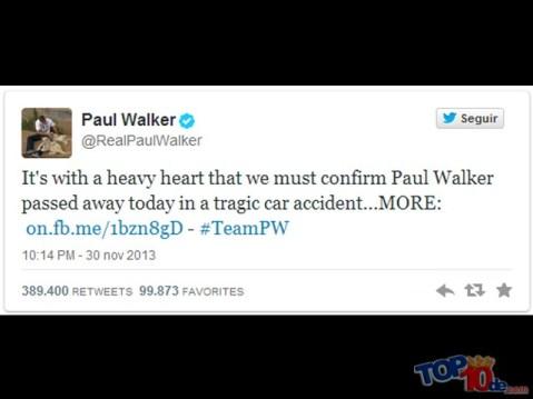 La muerte de Paul Walker