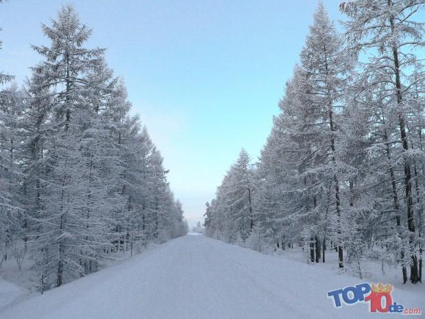 Los 10 lugares más fríos del mundo
