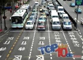 Los 10 países con mayor cantidad de vehículos