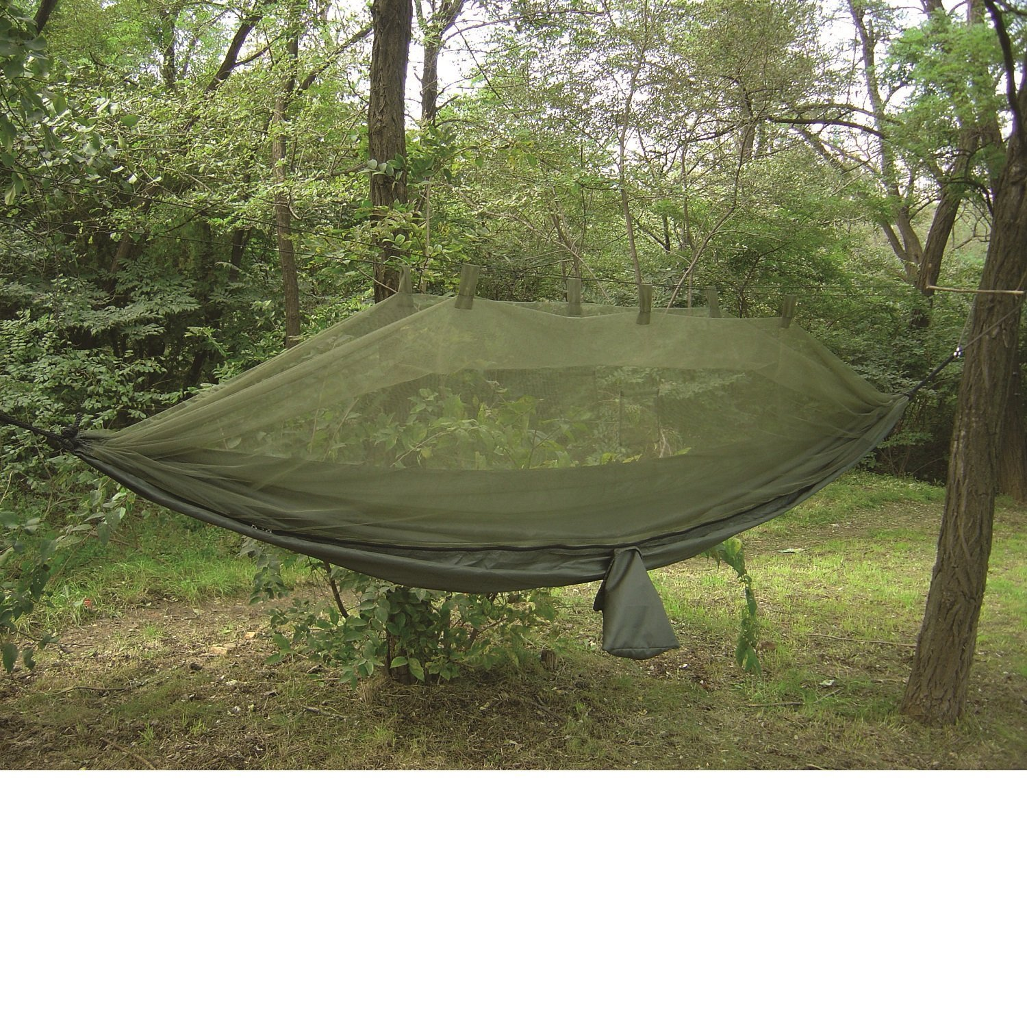 4002529 Snugpak Jungle Hammock with Mosquito Net in Olive