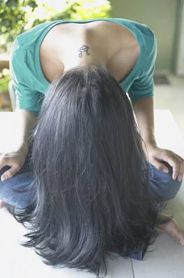hair flip upside down