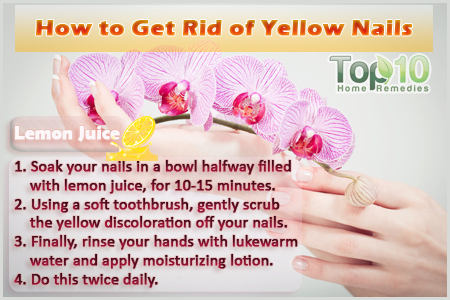 How To Get Rid Of Yellow Nails At Home By These Easy Steps
