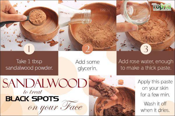 sandalwood for black spots