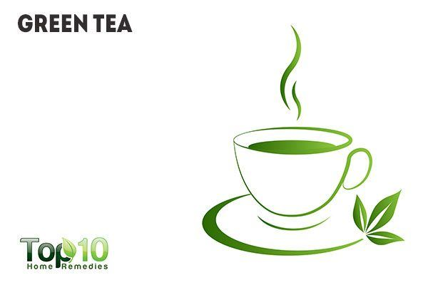 green tea for blotchy skin
