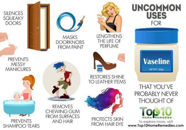 uncommon uses of vaseline