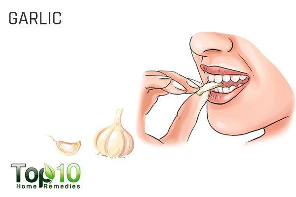 garlic for upper respiratory infection