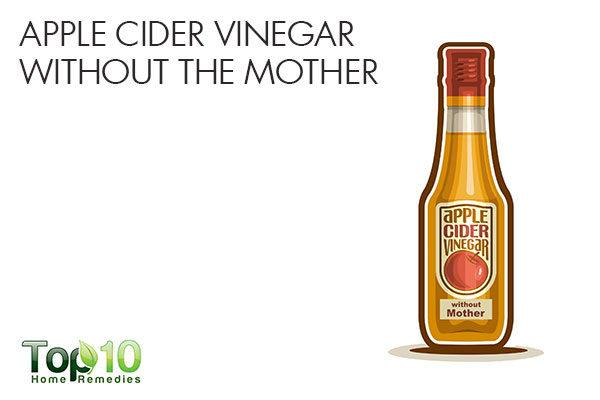 don't buy apple cider vinegar without mother