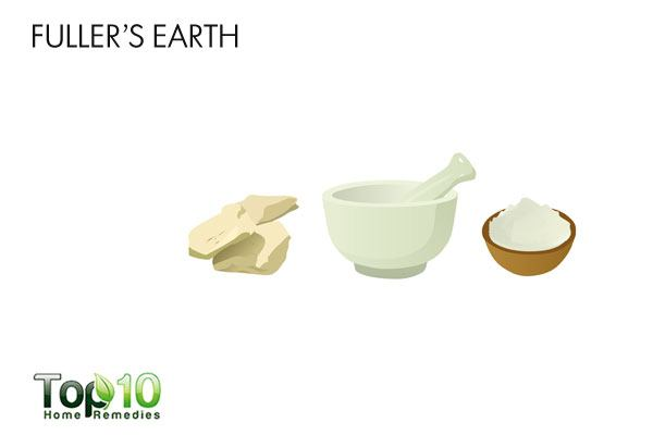 Apply a Fuller's earth body pack to tighten loose skin after pregnancy
