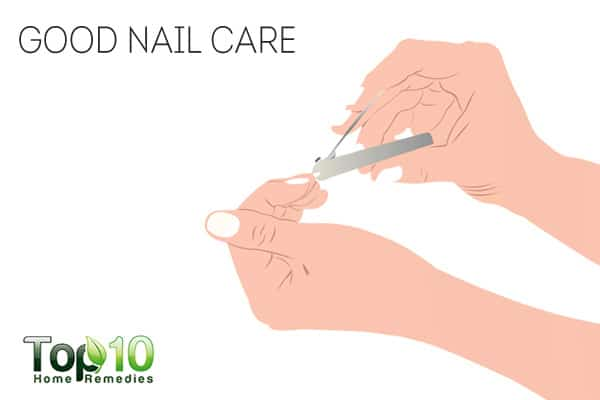 Take good nail care to prevent psoriasis