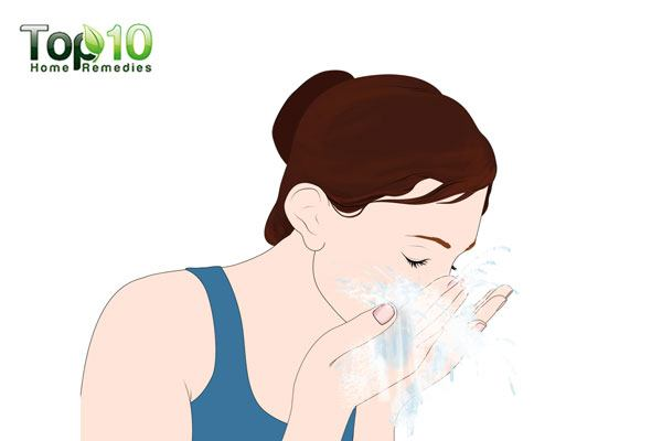 Wash your face using a gentle cleanser before proceeding with the face massage