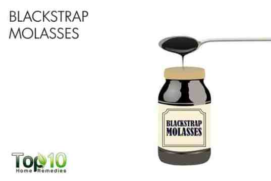 blackstrap molasses for muscle weakness