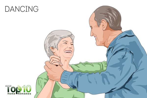 Dancing-best exercises for senior adults