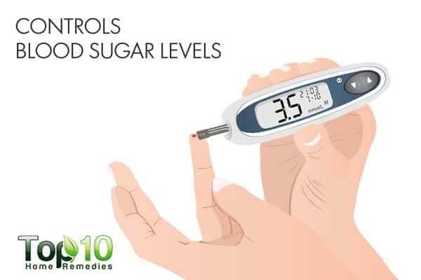 Kiwifruit helps control blood sugar levels
