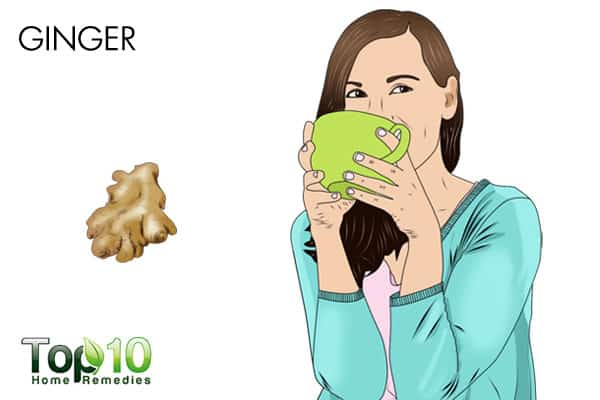 ginger to treat diabetic nerve pain