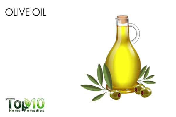 olive oil to get rid of bumps on arms
