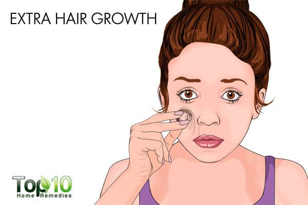 extra hair growth during pregnancy