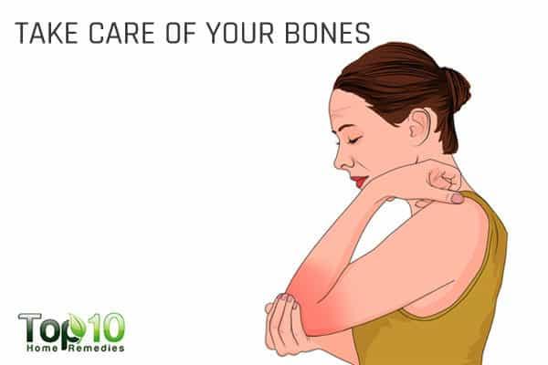 take care of bone health during menopause