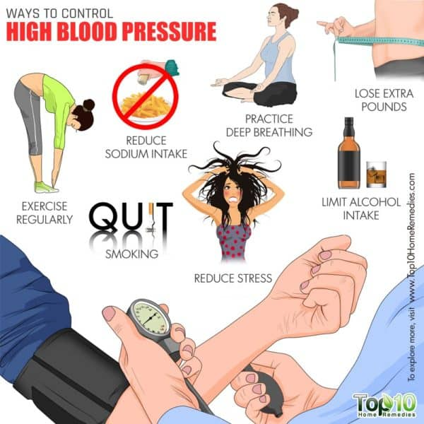 ways to control high blood pressure