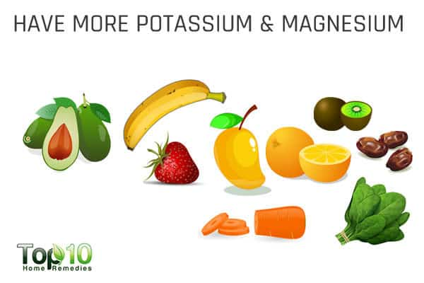 have more potassium and magnesium to control hypertension