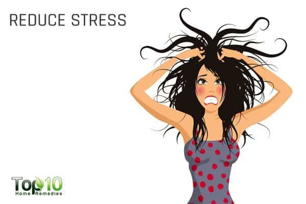 reduce stress to control high blood pressure