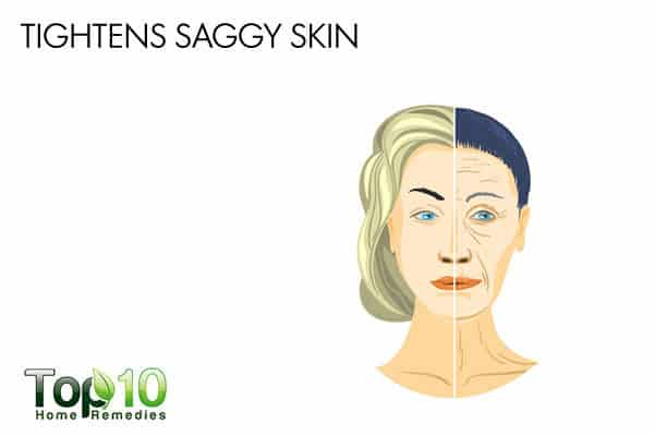 eggs tighten saggy skin