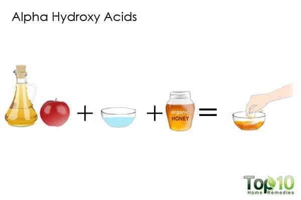 alpha hydroxy acids for hormonal